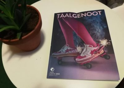 Taalgenoot magazine. October 2018. The Africa that cares.