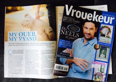 Vrouekeur April 2017. When you parent become your enemy.
