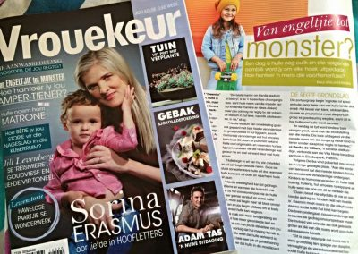Vrouekeur. May 2016. How to deal with your tween.