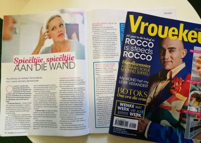 Vrouekeur magazine. January 2019. Medical and